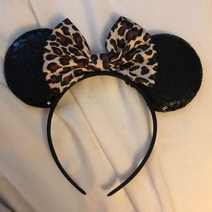 Cheetah Mickey ears